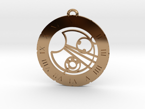 Lucas - Pendant in Polished Brass