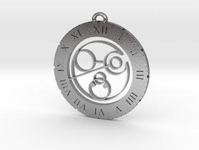 Cohen - Pendant in Natural Silver