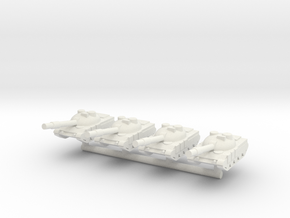 1/285 Al Zarrar Round Turret (x4) in White Strong & Flexible