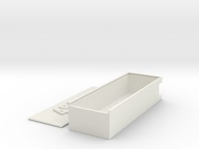 Battery Case 4S 3000 in White Strong & Flexible