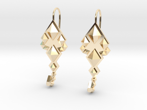SacredScorpio earrings in 14K Yellow Gold