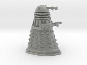 Dalek Miniature 30mm Scale in Metallic Plastic