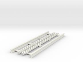 R-9-straight-bridge-track-long-1a in White Natural Versatile Plastic