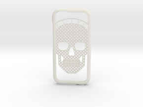 AliveSkull iPhone 6 Case in White Strong & Flexible