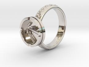Smoke ring(USA 5.5,Japan 10,Britain K) in Platinum