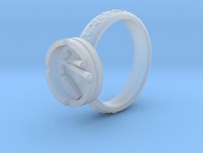 Smoke ring(USA 5.5,Japan 10,Britain K) in Smooth Fine Detail Plastic