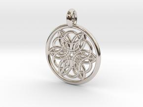 Pasiphae pendant in Platinum
