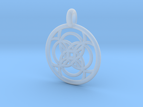 Amalthea pendant in Smooth Fine Detail Plastic