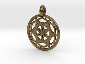 Sinope pendant in Natural Bronze