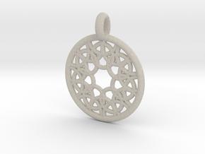 Elara pendant in Natural Sandstone