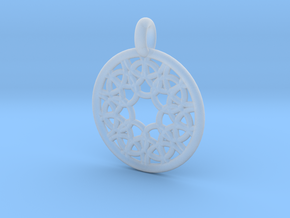 Elara pendant in Smooth Fine Detail Plastic