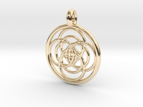 Iocaste pendant in 14K Yellow Gold