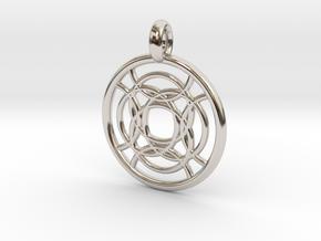 Taygete pendant in Platinum
