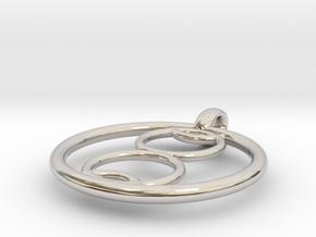 Kalyke pendant in Platinum