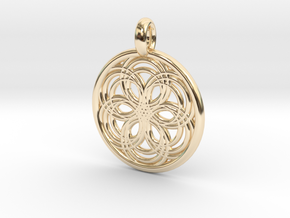 Carme pendant in 14K Yellow Gold