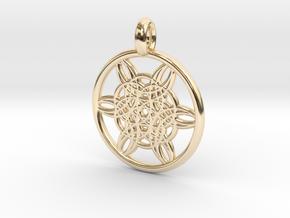 Helike pendant in 14K Yellow Gold