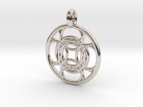 Kallichore pendant in Platinum