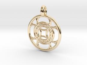 Kallichore pendant in 14K Yellow Gold