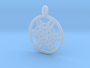 Helike pendant in Smooth Fine Detail Plastic