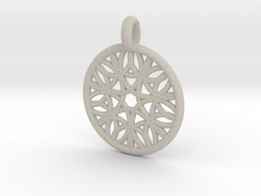 Cyllene pendant in Natural Sandstone