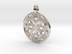 Thyone pendant in Platinum