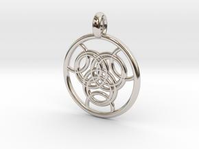 Praxidike pendant in Platinum