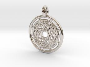 Hermippe pendant in Platinum