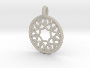 Eurydome pendant in Natural Sandstone
