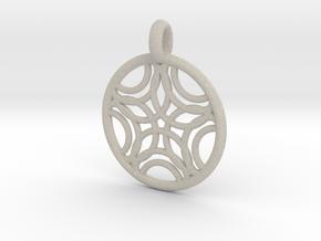 Sponde pendant in Natural Sandstone