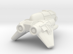"""Enforcer"" - HoneyBadger-22 in White Natural Versatile Plastic"