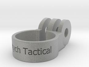 Go PRO Paintball Barrel Mount in Metallic Plastic: Small