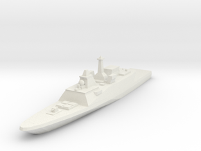 FREMM Frigate 1:700 x1 in White Strong & Flexible