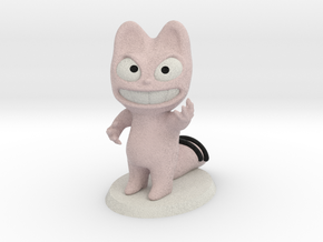 The Pink Cat, Le Chat Rose, N°4 in Full Color Sandstone
