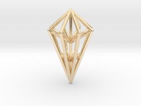 Diamond Frame in 14K Yellow Gold