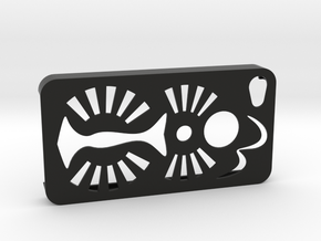 IPhone4Case in Black Strong & Flexible