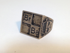 BrBa Ring size11 in Stainless Steel