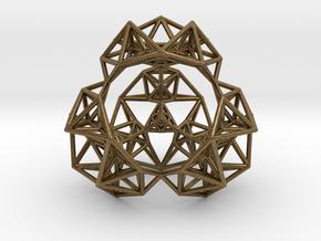 Inversion of a Sierpinski Tetrahedron in Natural Bronze