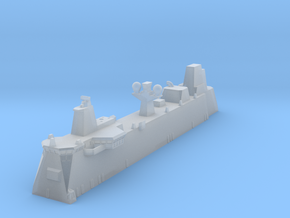 Canberra LHD Island 1/700 in Smooth Fine Detail Plastic