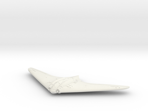 1:144 Horten Ho 229 in White Strong & Flexible