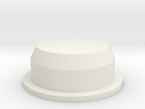 Cap for Salt and Pepper Shaker in White Strong & Flexible