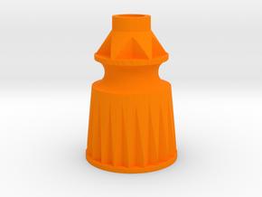 Playfield Star Post in Orange Processed Versatile Plastic