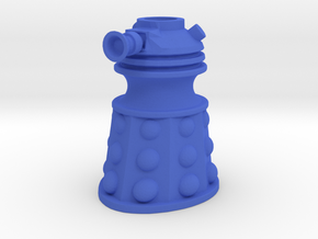 Dalek Post Version A in Blue Processed Versatile Plastic