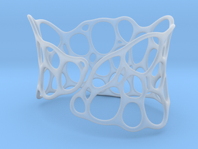 BRACELET Voronoi III in Smooth Fine Detail Plastic