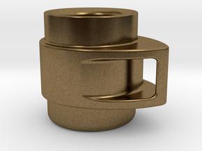 Coffee Mug in Natural Bronze