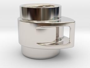 Coffee Mug in Platinum