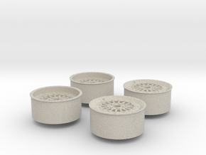 Rims For Scale 1-24 in Natural Sandstone