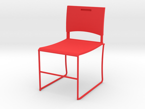HTLA Red Chair 10% in Red Strong & Flexible Polished