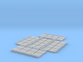 Remate liso 2x2 (40x) in Smooth Fine Detail Plastic
