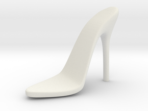 Women High Heel Base Right Shoe in White Natural Versatile Plastic