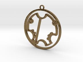 Trevor - Necklace in Natural Bronze